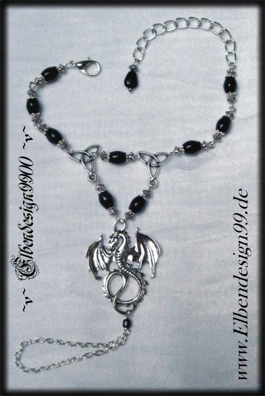 Handschmuck ~Celtic Dragon~