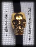 Bartperlen ~Skull~ 5 Stück