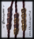 beard bead ~Medieval~ 4 pieces