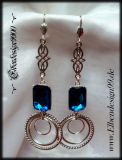 ear jewelry ~Aquamarin~