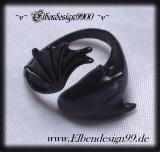 Ring ~Tiny Dragon~ schwarz