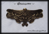 Haarspange ~Magic Butterfly~ gold